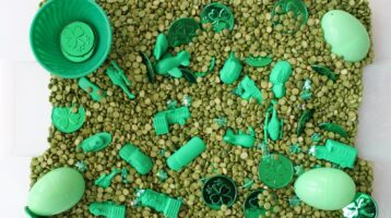 Fun St. Patrick's Day Sensory Integration Through Play