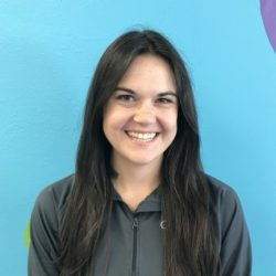 Occupational Therapy Assistant, Caitlin Hankins.